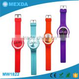 Colorful dial silicone strap children popular wholesale watch cheap                                                                         Quality Choice