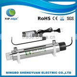 12W /0.5Gpm Stainless Steel Mini Household System For Home Uv Water Purification Ultraviolet Sterilizer