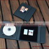 Wedding Fabric Linen DVD USB Credit Card Packaging Case Box