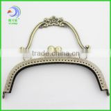 metal vintage handle ball clasp purse frame