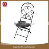 Newest arrival popular good quality iron folding bar stools