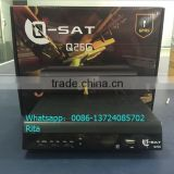 Q26G 28g HD SIMCARD decoder Africa Digist satellite receiver Q11G,Q13G,Q15G,Q23G