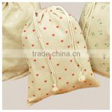 wholesale cotton linen drawstring bag & small jute drawstring bag