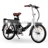 japanese electric bike,good quality aluminum frame 6 speed,20inch lightweight lithium battery folding bikes manufacturer