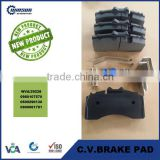29228 heavy duty truck brake pad,commercial vehicle disc brake pad