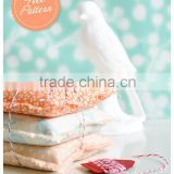 Chinese manufacturer Making beautiful cotton/linen/fabric scented embroidery sachet