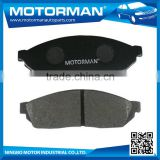 MOTORMAN Advanced Germany machines OEM all type available truck brake pad D177-7104 for SUZUKI ALTO