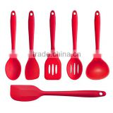 Top Selling kitchen utensil set silicone,Colorful kitchen utensil set silicone,Food grade kitchen utensil set silicone