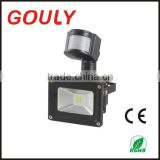 IP65 Outdoor LED Floodlight 100w, 12V RGB 10W motion sensor led floodlight waterproof , 85-265V 10w led flood light with sensor                                                                         Quality Choice