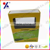 electrionical products packaging boxes for multimedia player,with magnet and paperboard,open 2 windows