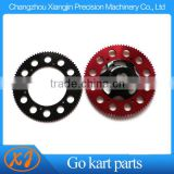 cnc aluminum alloy racing go kart 219 pitch chain sprocket for sale