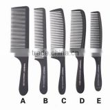 High quality hair salon comb carbon fibre professional hair cutting comb