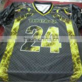 100 % Polyester Sublimation Durable material American Football Uniforms