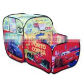Car Tent for kids children tent game room pit ball pool with basketball hoop