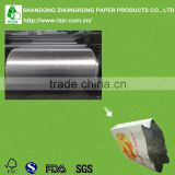 Hot sale aluminum foil laminated paper in roll for butter wrapping