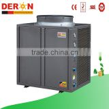 China deron high quality 30kw air to water heat pump gas water heater for industrial hot water use