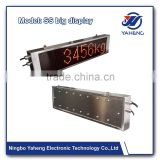 Industry electronic weighing led board display HY BDW weighing display poster stainless steel screen