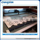 0086-15850106700 one two three four head laser cutting applique cutter / cnc laser cutting machine
