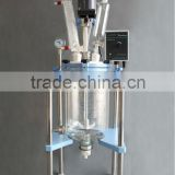 JR-S5 5L Glass Chemical Reactor with Borosilicate Glass 3.3 and PTFE Valve