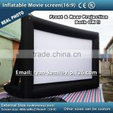 inflatable rear projection screen rear projection inflatable movie screen inflatable projector screen air screen inflatable TV