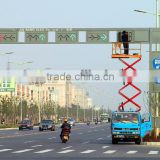 new style traffic light pole and steel traffic signal post Hot Dip Galvanized pole price