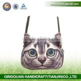 QQ pet factory supply top quality colored long chain zipper for bag accessories animal face bags