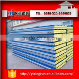 Keeping warm mineral wool sandwich panel