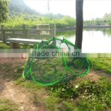 83 * 83cm 6 Holes Large Automatic Foldable Fishing Net Trap Shrimp Cage
