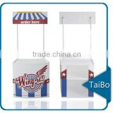 TB-C-P1 PP plastic promotion booth table, promo sampling table