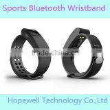 New Arrival Sports Tracking silicone Smart Bracelet With Pedometer