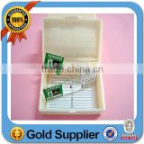office and school supplies botany prepared slides box