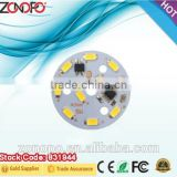 5w economy downlight ac led module no driver dimmable 220v smd2835 high voltage led driveless aluminum led board