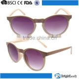 Most beautiful ladies fashion eagle eye cat.3 polarized cheap purple plastic frame cat eye sunglasses
