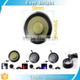 Round 10w eagle eye led drl fog light tail light with white,blue,red color car strobe lights