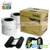 Thermal Ribbon & Photo Paper 4R (4' X 6') (330 prints X 2 Rolls)