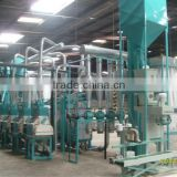 Complete maize mill machine, White maize milling equipment, Yellow corn grinding machine
