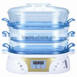 keep warm plastic electrical food steamer/steam cooker