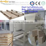 Machine to make wood pallet block/wood saw dust block making machine with different size