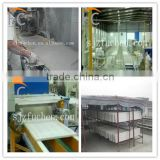 double gypsum mixer gypsum ceiling board making machine
