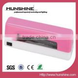 9w mini uv nail lamp