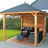 prefabricated wooden pavilion