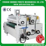Inquiry about High quality silicone double roller coater glass coating machine