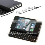 Universal Ultra-thin Slide-out Mini Bluetooth Wireless Keyboard for iPhone 4/4s with Hard Shell Case