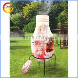 outdoor decorative clay pizza oven for garden supplies