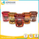Disposable Plastic Mini Dessert Cup for Cream Butter Container, Purple Plastic Cups and Cheese Cup