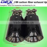 New style auto accessories Universal carbon fiber universal exhaust tips akrapovic tip M tip