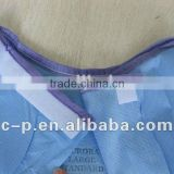 Disposable Blue/Green Doctor's Surgical gown/Operating Coat with knitting/elastic cuff for Hospital/Clinic (CE&ISO Approved)