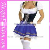 2014 Hot Sale Sexy Beer Girl Costume