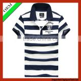 Polo shirt short sleeve for men,wholesale striped t-shirt,custom polo shirt