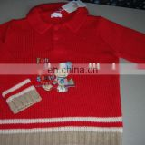 new design cotton embroidered sweaters